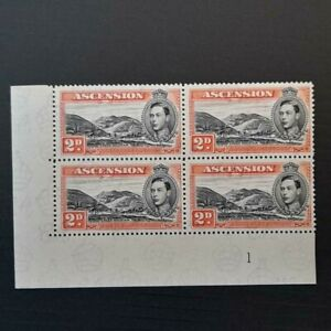 ASCENSION SG41a Plate Block VLMM see desc. R10/2 Mountain Rill Constant Flaw