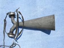 Antique Radio Amplifying Horn Speaker For Headphones, Includes Head Set Not Work