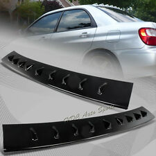 For 2002-2007 Subaru Impreza WRX Glossy Black ABS MR Shark Fin Rear Roof Spoiler