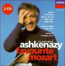 Favorite Mozart, Ashkenazy, Vladimir, New