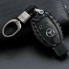 1x Soft Silicone Key Chain Fob For Mercedes Benz C E S M CLA CLS CLK GLK GLA GLC