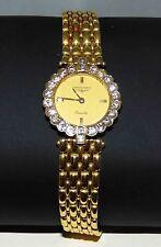 Ladies LONGINES Classique 18KT GOLD 22 Diamond W/Watch 18Kt Strap Wt 47Gr