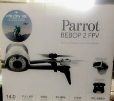 Parrot BeBop 2 Drone with FPV Bundle White.    FAST FREE SHIPPING