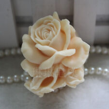 Rose Flower Silicone Soap Molds Candle Mold Soap Making Mould DIY Handmade Mold