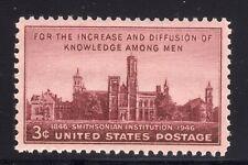 US STAMP #943 --- 3c SMITHSONIAN - XF-SUPERB - MINT - GRADED 95
