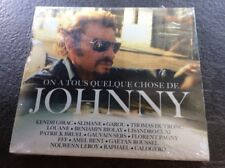 JOHNNY HALLYDAY /CD SOUS BLISTER/ ON A TOUS QUELQUE CHOSE DE ...
