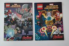 2 Lego Super Heroes Marvel Comics NEU