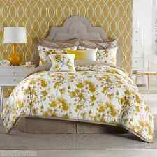 2-Pc Anthology Tabitha Girl's Twin XL Comforter Set Yellow Floral Shabby Chic