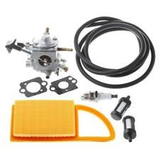 Carburetor with Air Filter Fuel Repower Kit for STIHL BR500 BR550 BR600