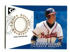 2005 Topps Gallery GO-CJ Chipper Jones Braves Jersey Card jh16
