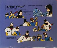 Hanna Barbera:Space Ghost,Jace,Jan,Blip Original Model Cel