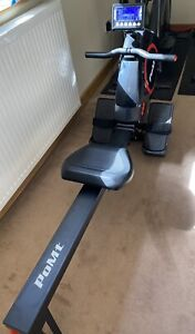 New Rowing Row Machine For Home Light & Robust LED Display Compact UK Dispatch