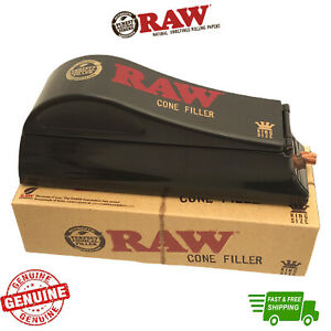 Raw King Size Cone Filler Machine RAW Rolling Papers Cone Shooter Rolling