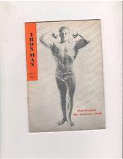IRON MAN magazine bodybuilding muscle ALAN STEPHAN Mr. America 1946 Vol 7 #1