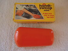 "Vintage Handi-Sweep Mini Hand Held Sweeper "" Nos "" Great Collectible Item """