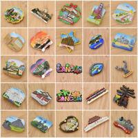 Cancun London Bridge City Fridge Magnet DIY Refrigerator Decor 3D Souvenir Gifts