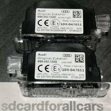 GENUINE LED entry lights Audi logo LED Projector Original entry 4G0.052.133G '