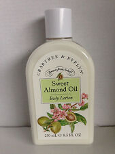 CRABTREE & EVELYN ~ 250ml SWEET ALMOND OIL ~ BODY LOTION ~ BRAND NEW
