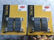2 x SBS 809 DS Dual Sinter Racing Brake Pads Honda CBR 1000 RR SC57, SC59