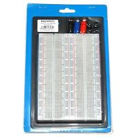 1660 Tie Point Solderless Electronic Breadboard Prototyping 215 x130 x 12mm