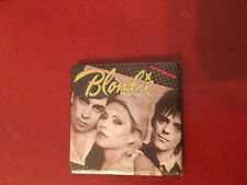 Blondie Eat To the Beat square pin button badge