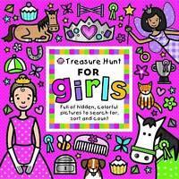 Treasure Hunt for Girls (Seek & Find), Roger Priddy, Very Good Book