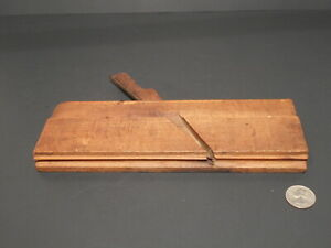 Antique Old Wooden Molding Plane Greenfield Tool Co. No. 98