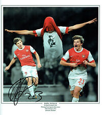 Andrey ARSHAVIN Signed Autograph HUGE Arsenal Montage Photo AFTAL COA