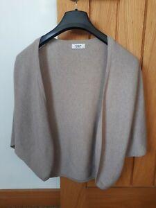 Jacqueline de yong Size Xs Light Brown  Short Sleeved  Shrug
