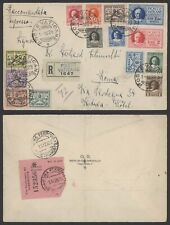 Vatican 1929 - Registered Cover to Italy L624