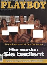 German Playboy Magazine 2004-08 bar ladies, Christiane Henschel, Erotic Sport