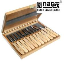 NAREX 894850 STANDARD 12 PCE BOXED CARVING SET WOOD TOOL WHITTLING CHIP CARVERS