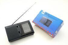 Seg WE-110 Orriginal Portable 9 Band World Receiver / Fm/ Mw/ Lw Radio NOS/Boxed