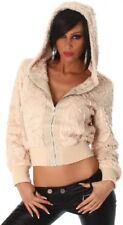 Cappotti e giacche da donna beigi casual Taglia 38
