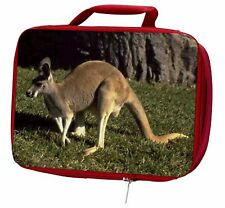 More details for kangaroo insulated red school lunch box/picnic bag, ak-2lbr