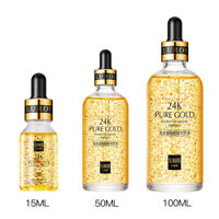 100ml 24k Gold Facial Skin Care Anti wrinkle Anti-Aging Face Essence Serum Cream