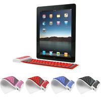 Waterproof Flexible Silicone Wireless Bluetooth Mini Keyboard For Laptop,Tablets