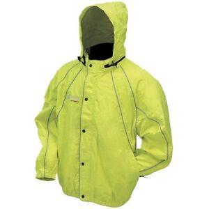 Frogg Toggs Horny Toadz Hi-Vis Rain Jacket NTH65115-48 Sizes L & 2XL CHOOSE SIZE