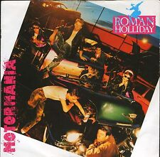 """ROMAN HOLLIDAY motormania/cookin' on the roof JIVE 49 uk 1983 7"""" PS EX/EX"""