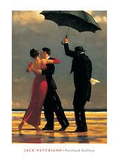 The Singing Butler Jack Vettriano Love Dancing Print Vertical 11.75x15.75