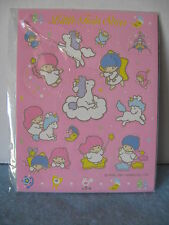 Sanrio Little Twin Stars Artbloom Stickers Unicorn Vintage '76, '91  NEW