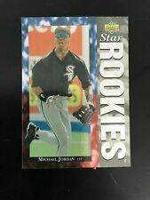 1994 Upper Deck Michael Jordan Baseball Rookie Card #19 White Sox Bulls