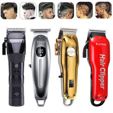 Electric Hair Clippers Cordless Haircut Grooming Beard Barber Shaver Men Gifts