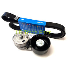 LAND ROVER DISCOVERY 3, 2.7 TDV6 NEW ANCILLARY DRIVE BELT TENSIONER & DAYCO BELT