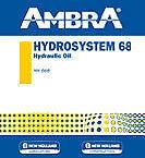 OLIO IDRAULICO HYDROSYSTEM 68 5LT AMBRA PETRONAS NEW HOLLAND