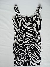 Women's Select dress white/black color size 8 BNWOT