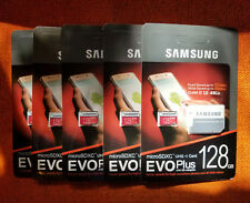 Samsung Evo Plus 128GB Micro SDXC UHS-1 Class 10 Flash Memory Card SD Adapter