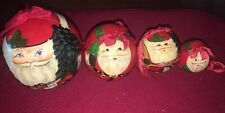 Russian Matryoshka - Christmas Nesting Doll~3 X-Mas Ornaments Inside