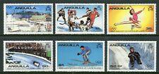 Anguilla Scott #375-380 MNH OLYMPICS 1980 Lake Placid CV$2+ ISH-1