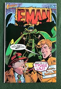 E-Man #9 First Comics Bronze Age Joe Staton Energy Man vf
